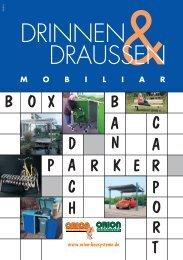 Drinnen & Draussen Katalog - Orion Bausysteme GmbH