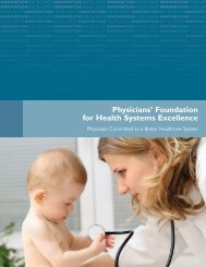 2008 - The Physicians Foundation
