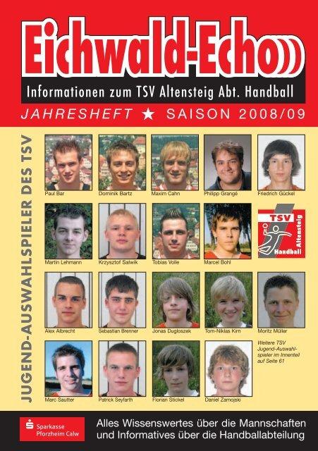 Informationen Zum Tsv Altensteig Abt Handball