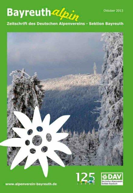 Download von BAYREUTH alpin als pdf-File