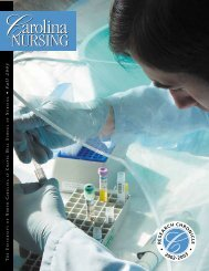 Research Chronicle, 2003 - School of Nursing - The University of ...