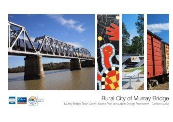 Murray Bridge Town Centre Master Plan & Urban Design Framework