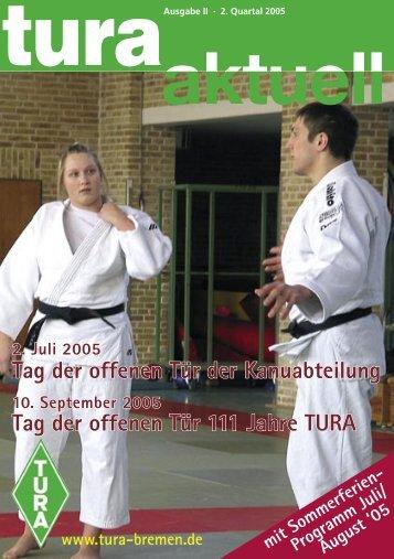 Tag der offenen Tür der Kanuabteilung Tag der - TURA Bremen eV