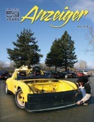 May 2010 Anzeiger - Oregon Region Porsche Club of America