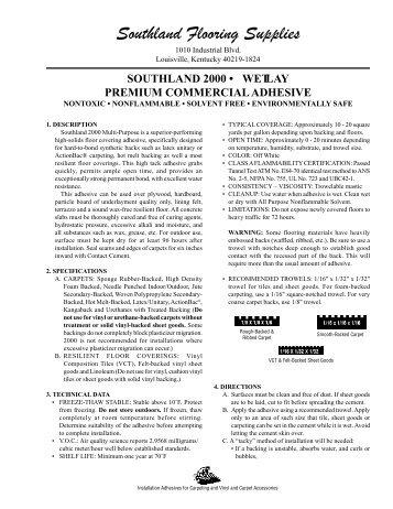 Nice S 2000 Tech Data   Southland Flooring Supplies