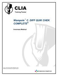 Wampole C. DIFF QUIK CHEK COMPLETE - TechLab