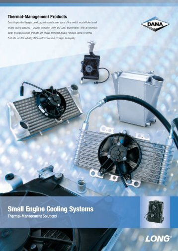 Small Engine Cooling Systems