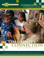 COMMUNITY CONNECTION - The Colorado Trust