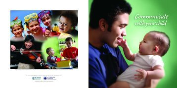 Brochure - Communicate With Your Child