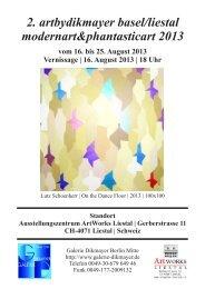 Kunstkatalog_Basel_Liestal_2013_web - Galerie Dikmayer Berlin