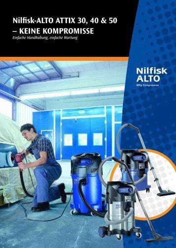 Nilfisk-ALTO ATTIX 30, 40 & 50 – KEINE KOMPROMISSE