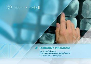 odborný program - Česká kardiologická společnost