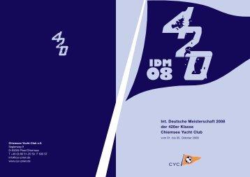 5.10.08 IDM 2008 / CYC / Chiemsee