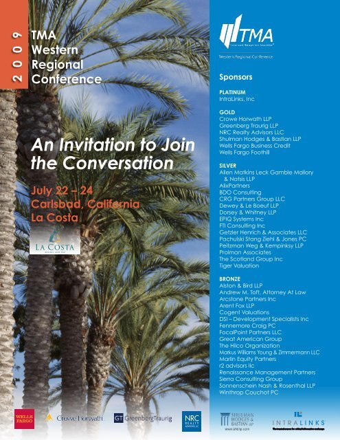 An Invitation to Join the Conversation - Turnaround Management ...