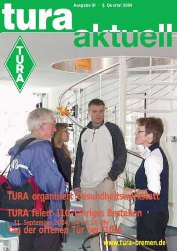 TURA organisiert Gesundheitswerkstatt TURA ... - TURA Bremen eV