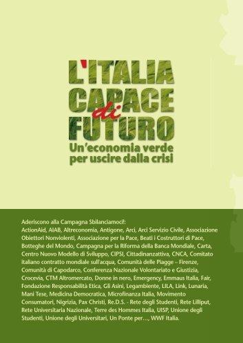 Dieci proposte per un'Italia capace di futuro - Sbilanciamoci