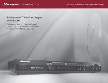 Pioneer Electronics (USA) - TVsZone.com