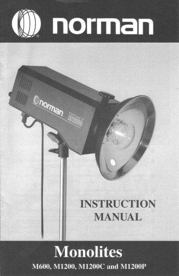 M600 M1200 M1200C M1200P - Norman