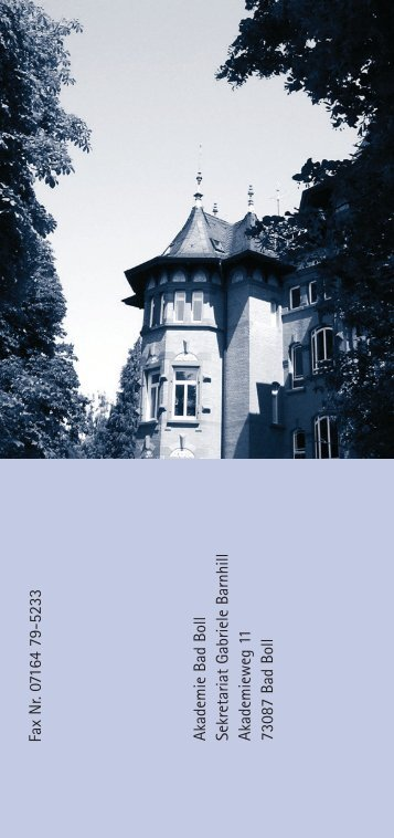 Programm 2012 - BDR Hamburg