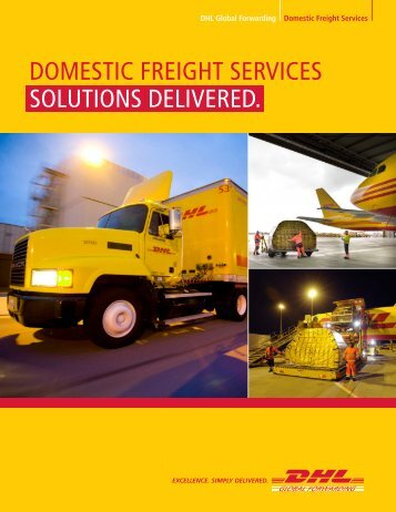 Domestic Freight Services Brochure - DHL