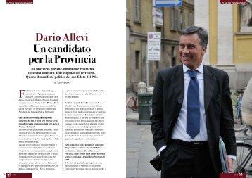 Un candidato per la Provincia Dario Allevi - Monza Club