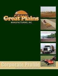 Corporate Profile (PDF) - Great Plains Manufacturing