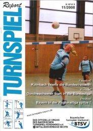 11/2008 - Bayerischer Turnspiel- Verband