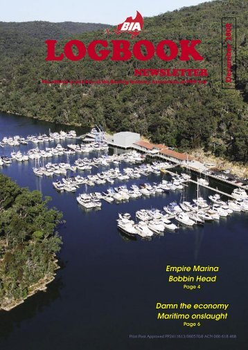December 2008 - Boating Industry Association of NSW