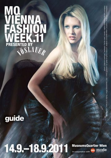 MQ VIENNA FASHION WEEK.11 MAGAZINE