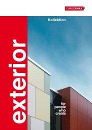 FunderMax Exterior Kollektion - Jago AG