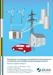 Netzintegration von Fahrzeugen mit elektrifizierten ... - JUWEL