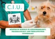 Máster en Ciencias de las Anestesiología, Farmacología y Terapéutica Veterinaria