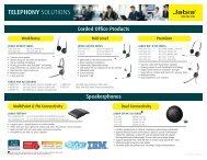 Jabra Headsets for Deskphones - Gentek