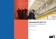 Jahresbericht 2011/12 - Kantonsschule Büelrain, Winterthur