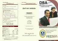 doctorate of business administration dba - Rezzen