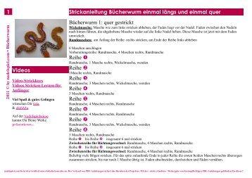PDF-Download * Kostenlose Strickanleitung ... - Nadelspiel