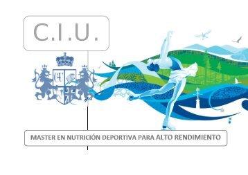 Máster en Nutrición Deportiva para Alto Rendimiento