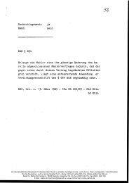 BGHZ: BGB § 654 § 654 BGB 222/83 - - Dr. Stefan Zimmermann
