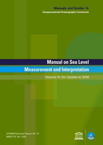 IOC Manuals & Guides, No. 14 - Permanent Service for Mean Sea ...