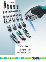 TOOL fox The right tool for every case - Phoenix Contact
