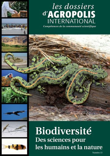 Biodiversité, des sciences pour les humains et la nature - Agropolis ...