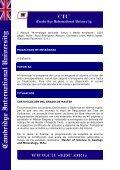 Máster en Ciencias de la Geología y Minerología - Page 6