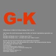 Willkommen im Mail-Art Online-Katalog (Teil 2 von 4 ... - Tufa Trier