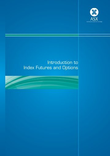 Introduction to Index Futures and Options - Bell Potter Securities