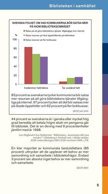 Fakta om bibliotek 2011 (PDF). - Svensk Biblioteksförening