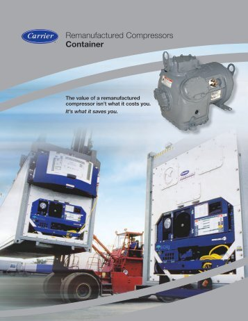 Remanufactured Compressors Container - Carrier Transicold ...