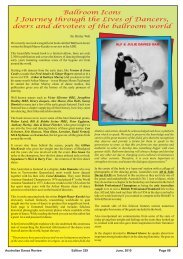 Ballroom Icons Book Review Australia