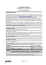 Prestazioni Hera SpA procedura e listino 2013 - Il Gruppo Hera