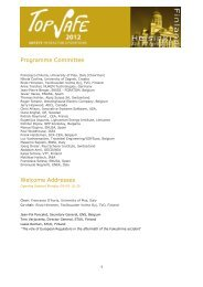 Programme Committee - European Nuclear Society