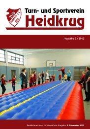 Ausgabe 2 / 2012 - TuS Heidkrug